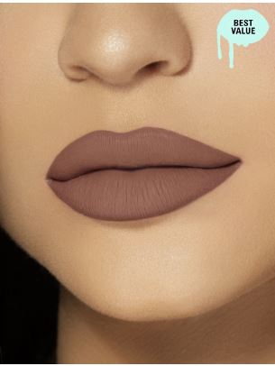 Labial Liquid Matte Color Brown Sugar Marca Kylie Jenner 1