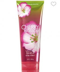 Crema Cherry Blossom Bath and Body Works